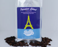 Rally Beans' Parisian Blend is a a bold and heavy-bodied coffee with hints of caramel and cream.