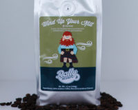 Rally Beans' Wind Up Your Kilt is rich, full-bodied brew flavored with butterscotch creme' and hazelnut.