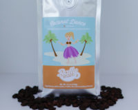 Rally Beans' Coconut Dance is luscious, flavored with toasted coconut and cream.