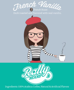 Rally Beans' French Vanilla is a sophisticated addition to the coffee fundraiser lineup!