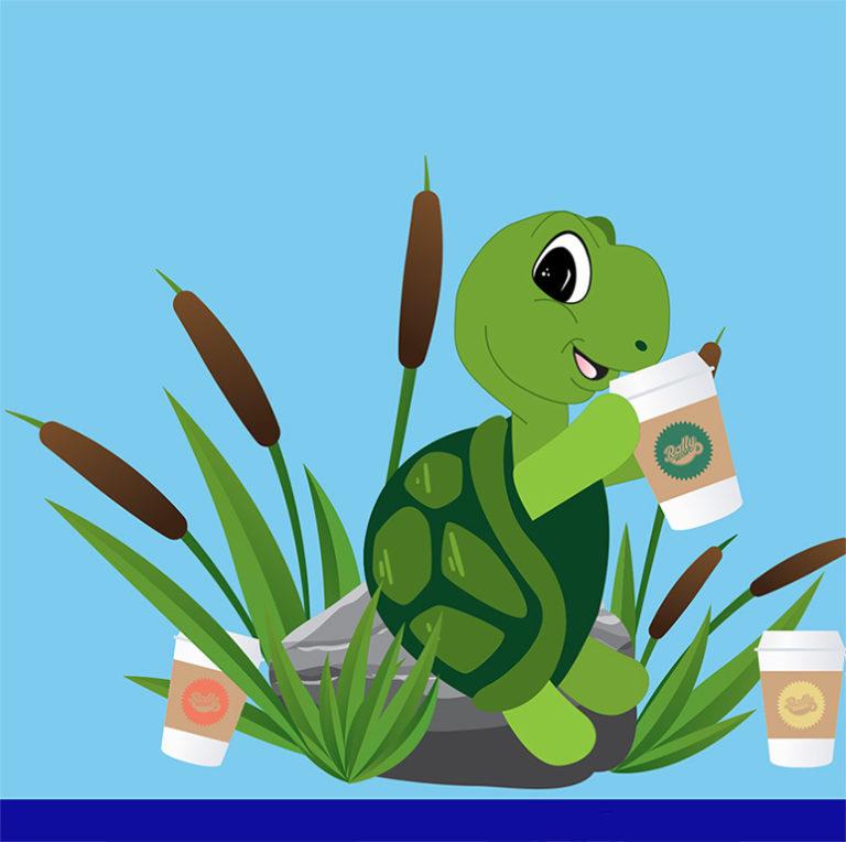 turtle nut coffee, chocolate coffee, caramel coffee, pecan coffee, coffee fundraiser